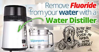 Avoid fluoride when you buy water distillers online