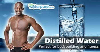 Bodybuilding and distilled water