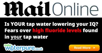 Daily Mail: Is YOUR tap water lowering your IQ? Fears over high fluoride levels found in water in Maine
