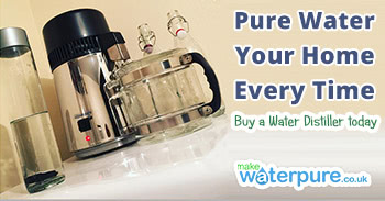 Making distilled water to enjoy at home
