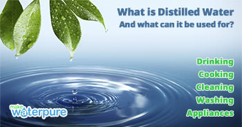 Water distiller manufacturers show uses of distilled water