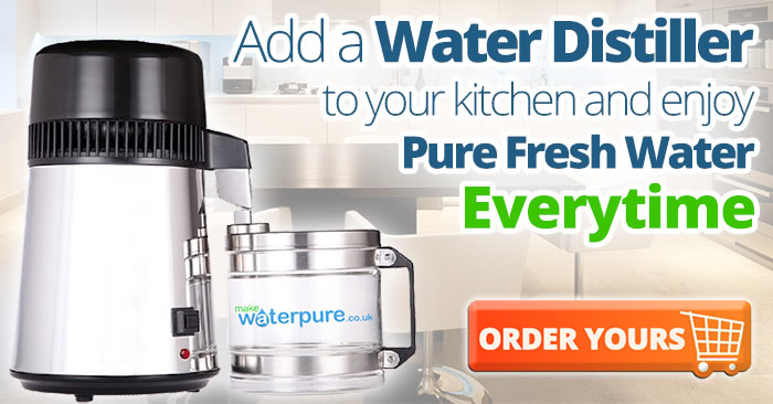 Are Water distillers the new must have kitchen appliances
