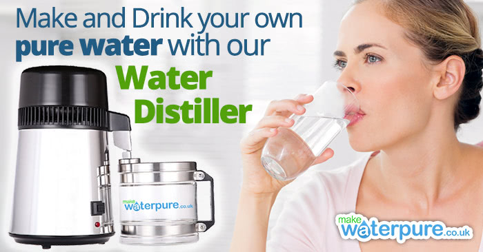 Drink more water and why should come from our home water distiller
