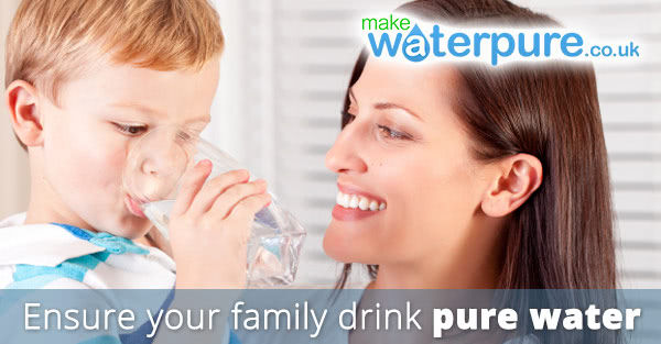 Ensure your family drink pure water