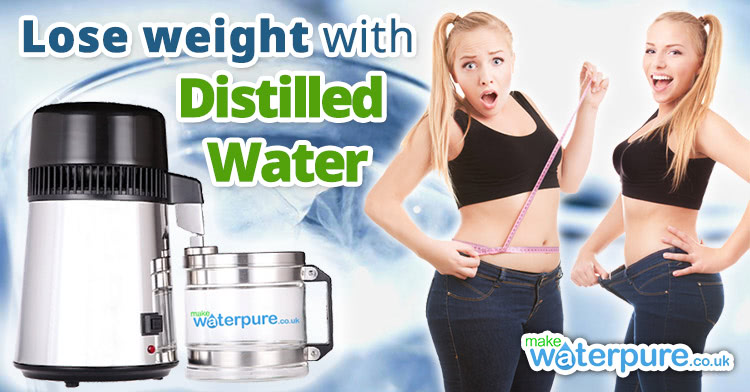 Lose weight with distilled water