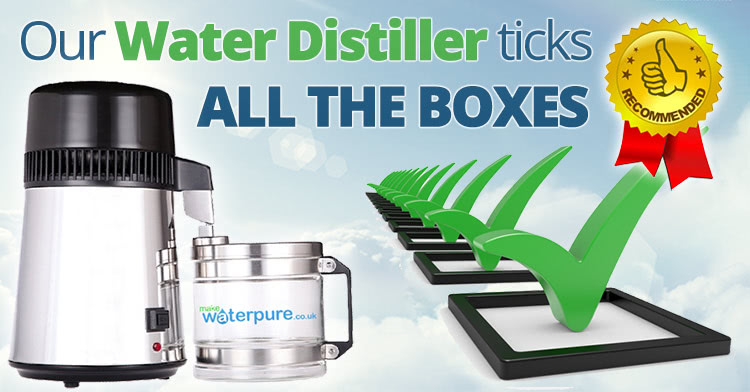 Our water distillers are unbeatable in more ways than one