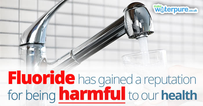 The associated dangers of fluoride in tap water