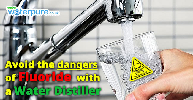 Use our water distiller to help avoid the dangers of fluoride