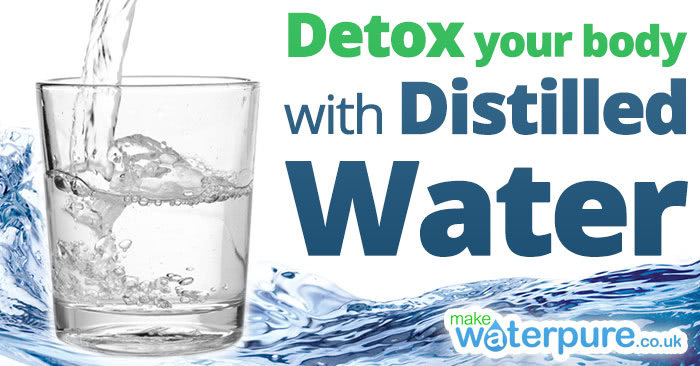 Water distillers and detox