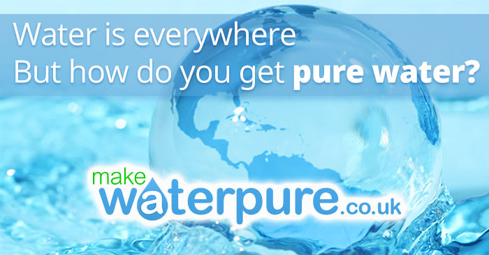 What is pure distilled water