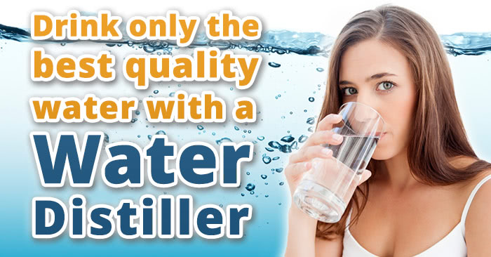 Home water distillers