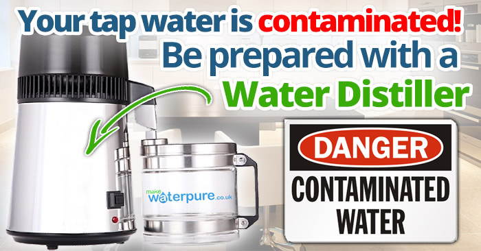 Your tap water is contaminated! Prepared with a water distiller?