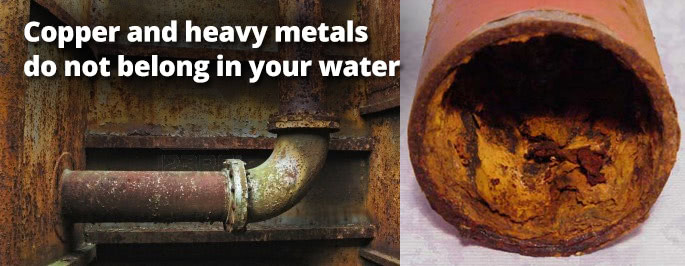 Copper and heavy metals in your drinking water