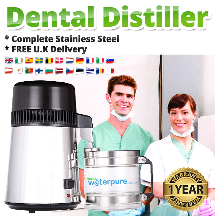Why buy water distillers for your dental practice