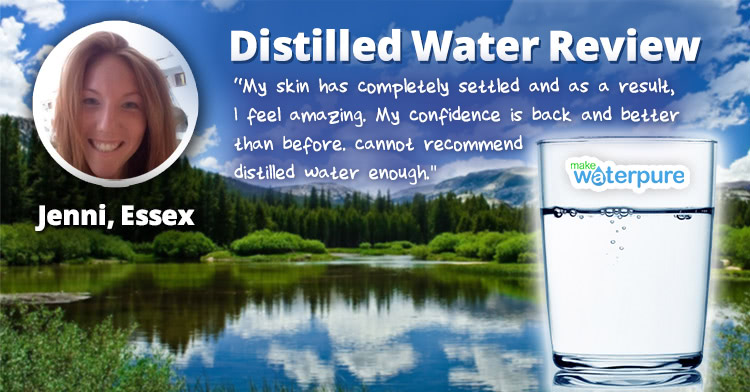 Jenni Essex Distilled Water Review