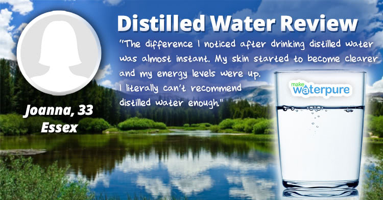 Joanna Distilled Water Review