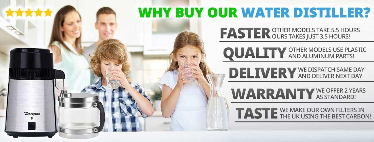 Wasser Distiller Neu Modell 2018 4 Liter Edelstahl