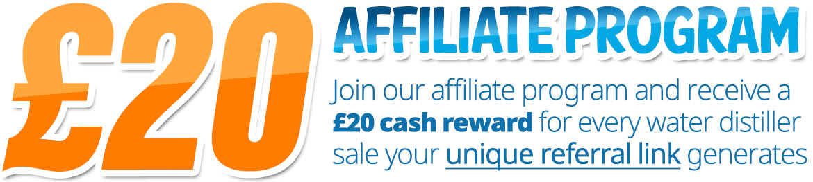Affiliate Program £20 Cash Reward