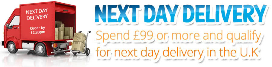 Nexy day delivery on orders over £99