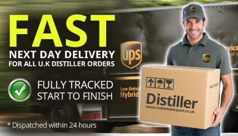 FREE Delivery for Water Distillers